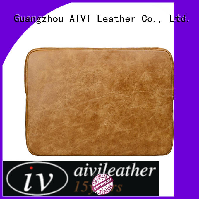comfortable laptop leather case for laptop