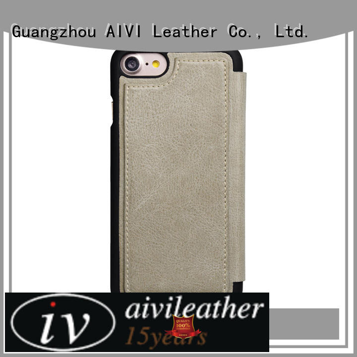 AIVI high quality iphone 7 leather case luxury universal for iphone XS