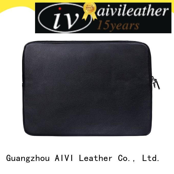 AIVI leather notebook case easy to carry for computer
