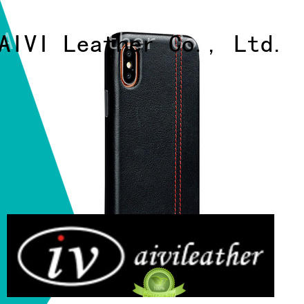 AIVI high quality quality leather iphone case supply for iphone 7/7 plus