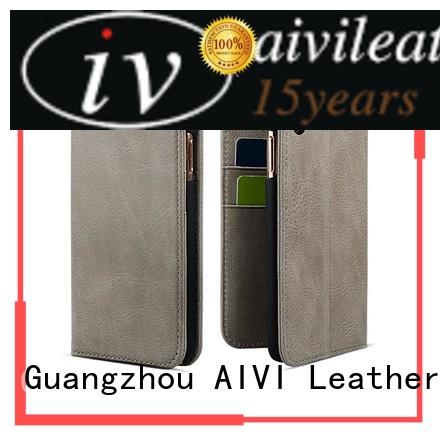 AIVI reliable apple original leather case factory for iphone XR