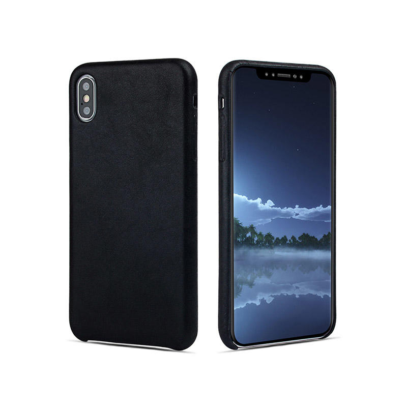 waterproof personalised leather phone case protector for iphone XS-3
