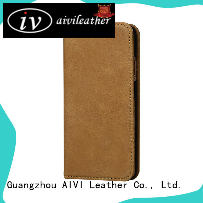 AIVI layer iphone x leather case accessories for ipone 6/6plus
