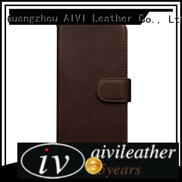 AIVI waterproof apple 7 leather case wallet for phone XS Max