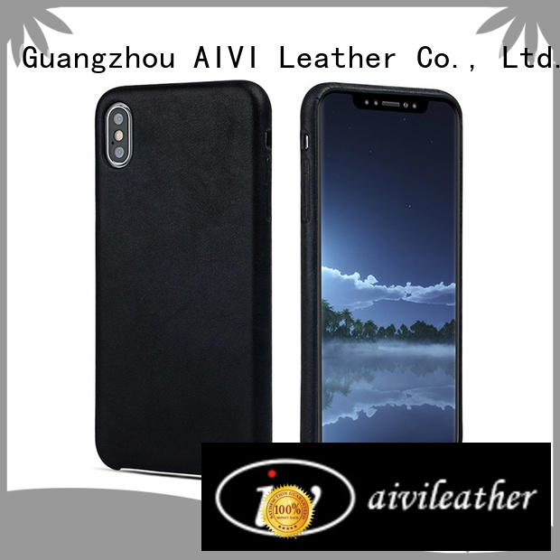 holder leather phone wallet cow for iphone X AIVI