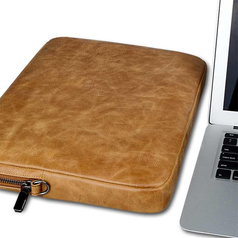 CASES GENUINE Leather Computer Case For MAC BOOK CASE