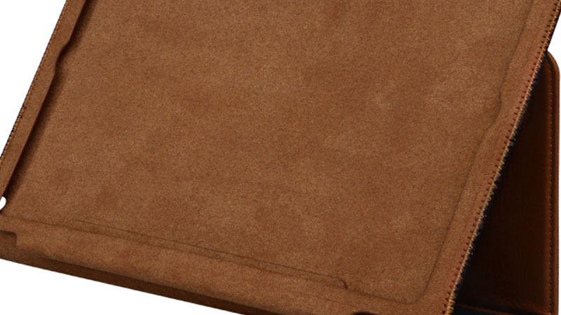 Ultrathin genuine leather material For Ipad Leather Case-6