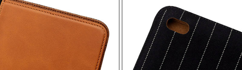 Ultrathin genuine leather material For Ipad Leather Case-8