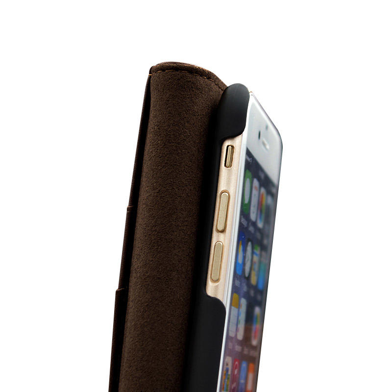waterproof iphone 7 brown leather case high quilty ipone 6/6plus