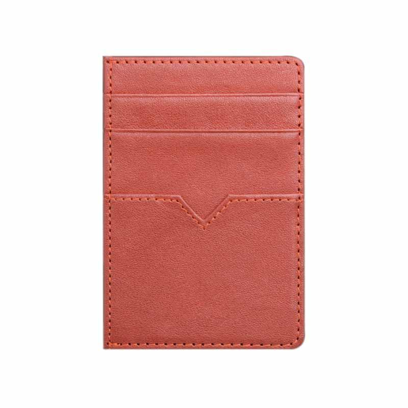 Genuine Leather Credit Card Case Leather Coin Cover ID Covers Luxury Brand Small Retro