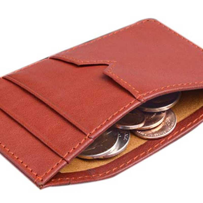 slim leather credit card case manufacturer for iphone XR-1