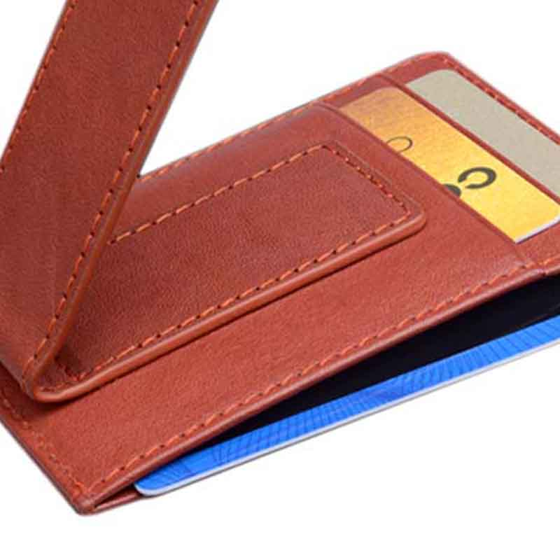 durable leather card holder wallet mens manufacturer for ipone 6/6plus-2