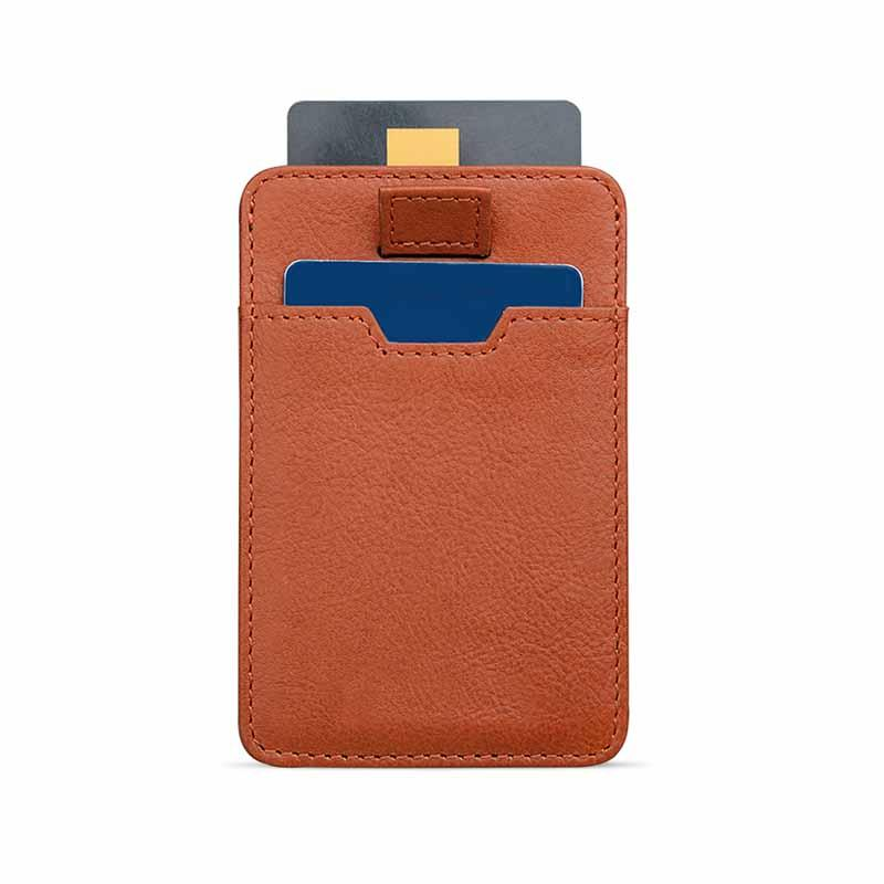 New fashion genuine leather Mens Leather Wallet With Coin Pocket brown leather card holder wallet