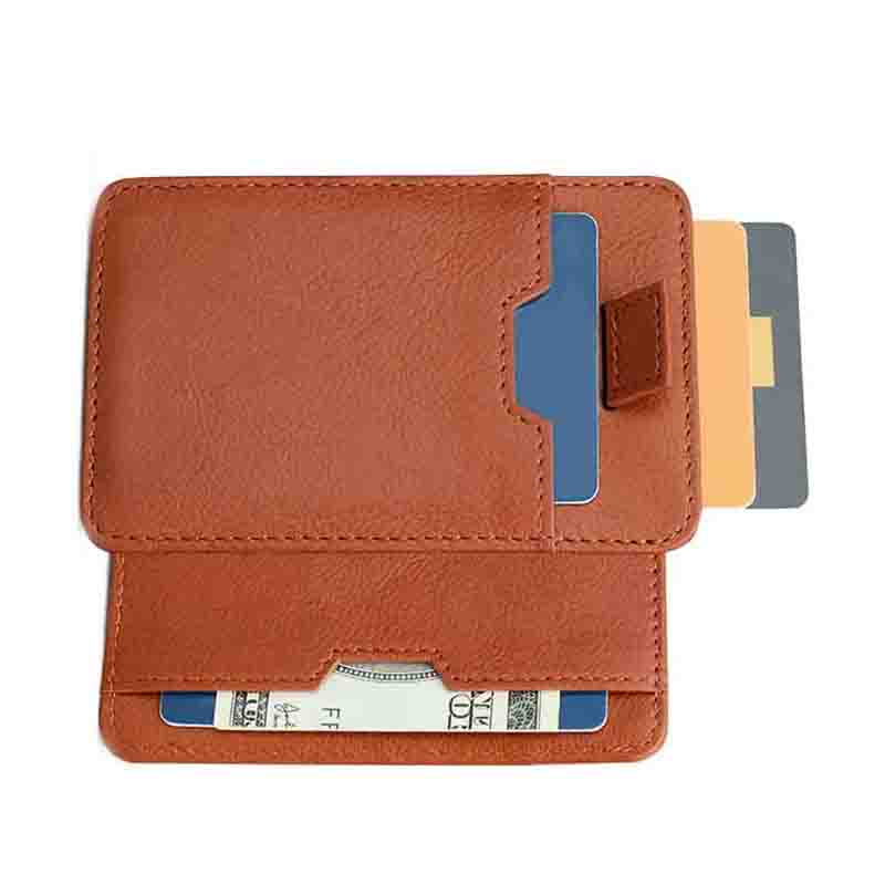 personalized leather card case wallet supply for ipone 6/6plus-1