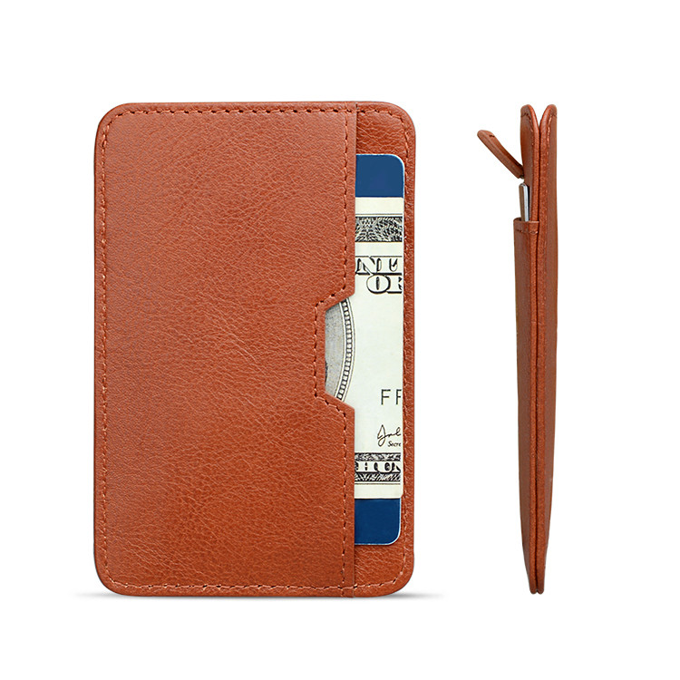 personalized leather card case wallet supply for ipone 6/6plus-3