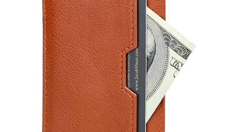 AIVI customized leather card holder wallet mens supply for iphone 8 / 8plus
