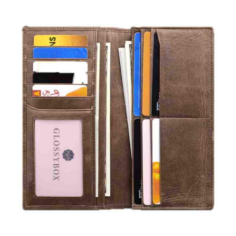 AIVI fashion leather credit card wallet online for iphone X-2