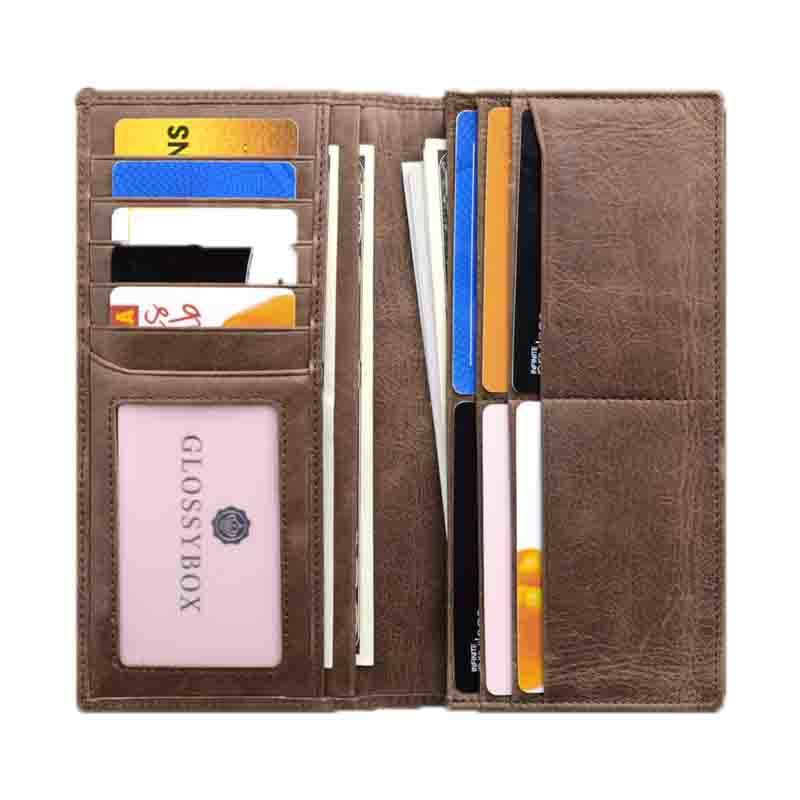 leather money clip wallet and credit card holder 11 for phone XS Max AIVI