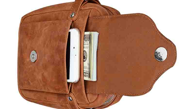 multi-function custom leather wallets large capacity for travel-6