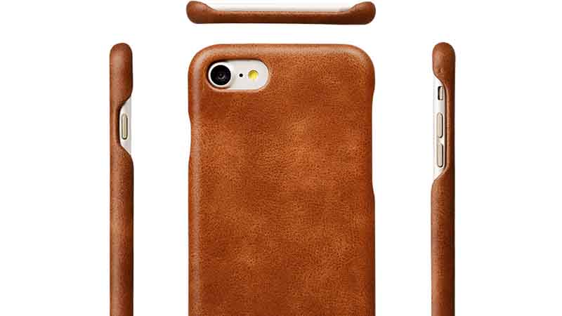 AIVI fashion leather phone case for iphone 8 leather for iphone XR-4