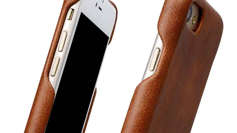 high quality iphone 8 leather cover high quilty for iphone 7/7 plus-7