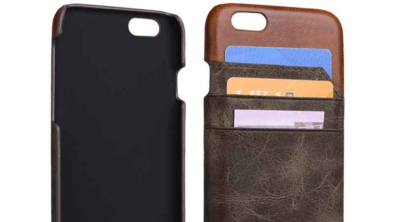 AIVI design iphone 6 leather wallet accessories for phone XS Max-7
