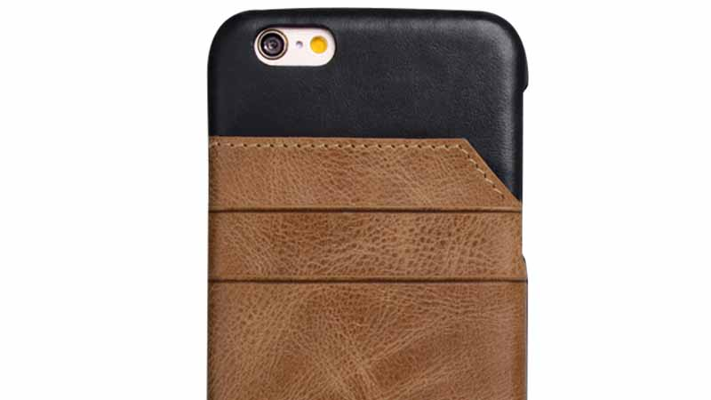 fashion iphone 6 plus leather wallet case design manufacturer for ipone 6/6plus-5
