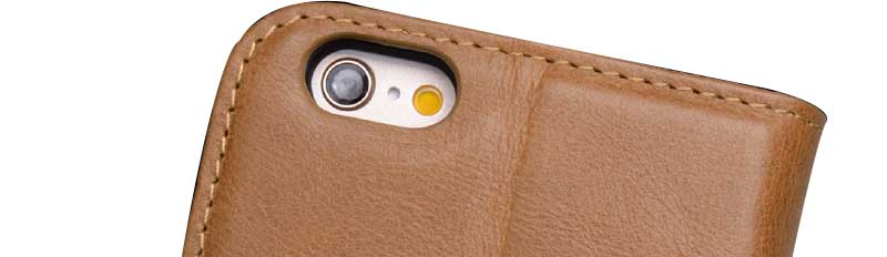 fashion brown leather iphone 6 case manufacturer for phone XS Max-8