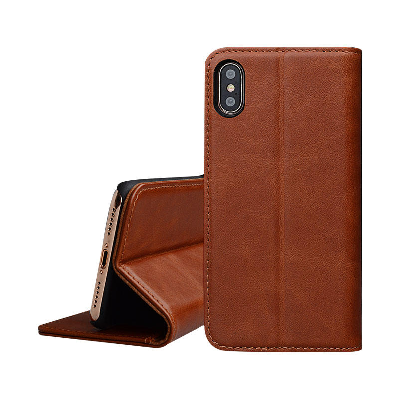 AIVI fashion soft leather iphone case strap for iphone XS