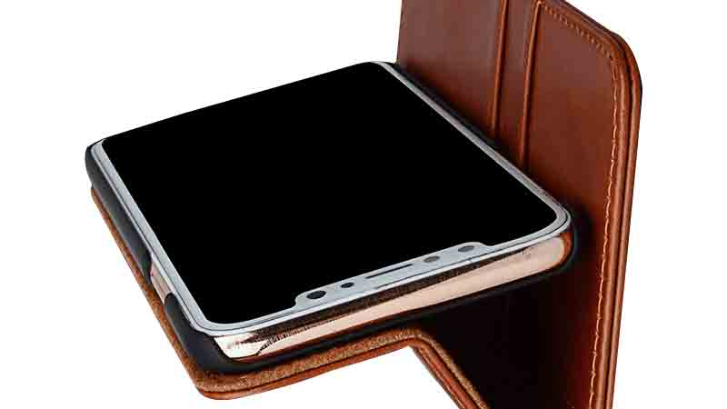AIVI fashion soft leather iphone case strap for iphone XS-5