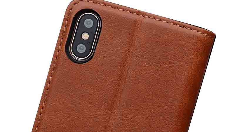 AIVI fashion soft leather iphone case strap for iphone XS-6