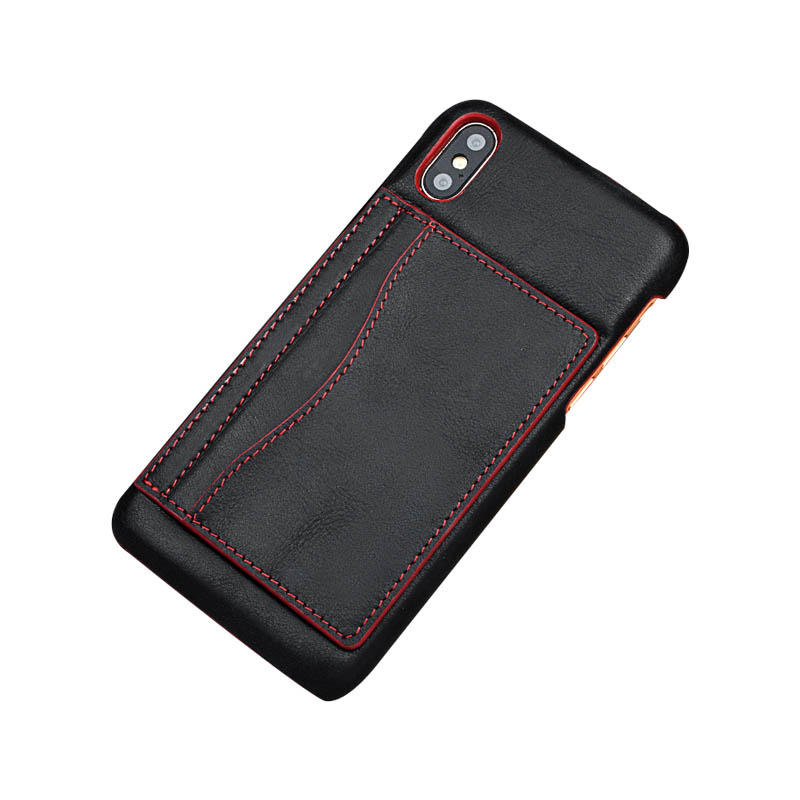 Waterproof Phone Case For Iphone X Wallet Phone Leather Case