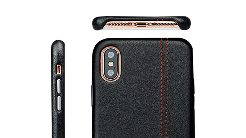 best iphone x leather case accessories for phone XS Max-6