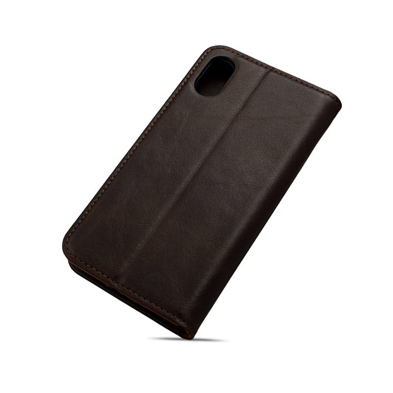 Leather Phone Case Luxury Shockproof Genuine Leather Protective Case For iPhone XR