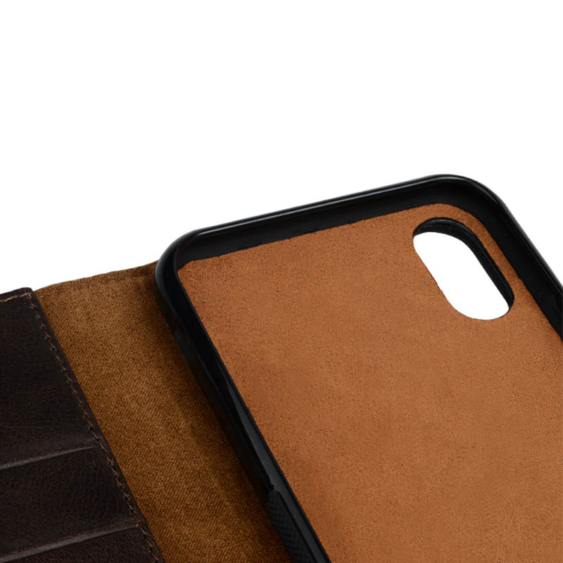 personalized mens leather phone case for iphone 8 / 8plus-1