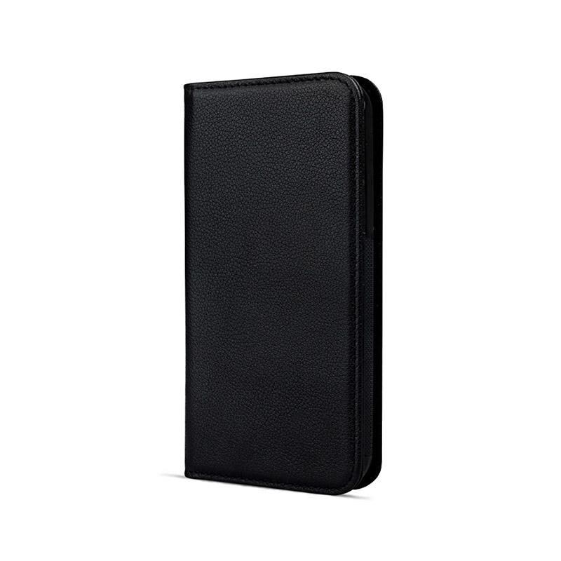 Classic Handmade Genuine Folio Genuine Leather Wallet Phone Case For iPhone X