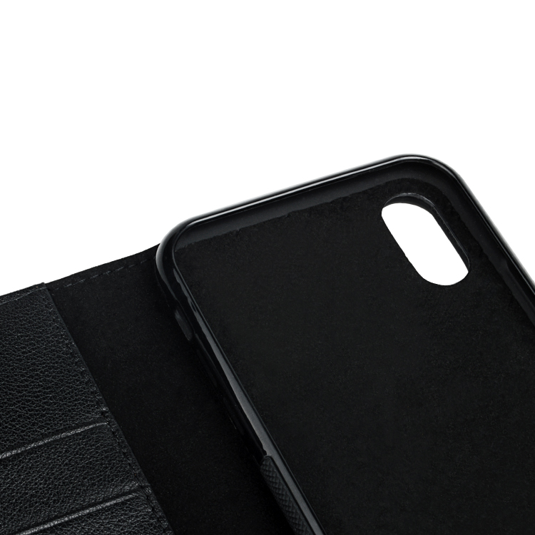 customized mens leather phone case protector for iphone 8 / 8plus-2