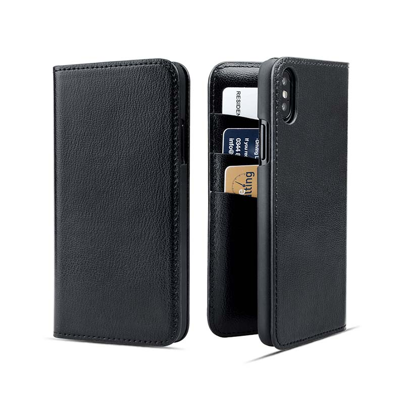 AIVI magnetic custom leather iphone case protector for iphone XS-3
