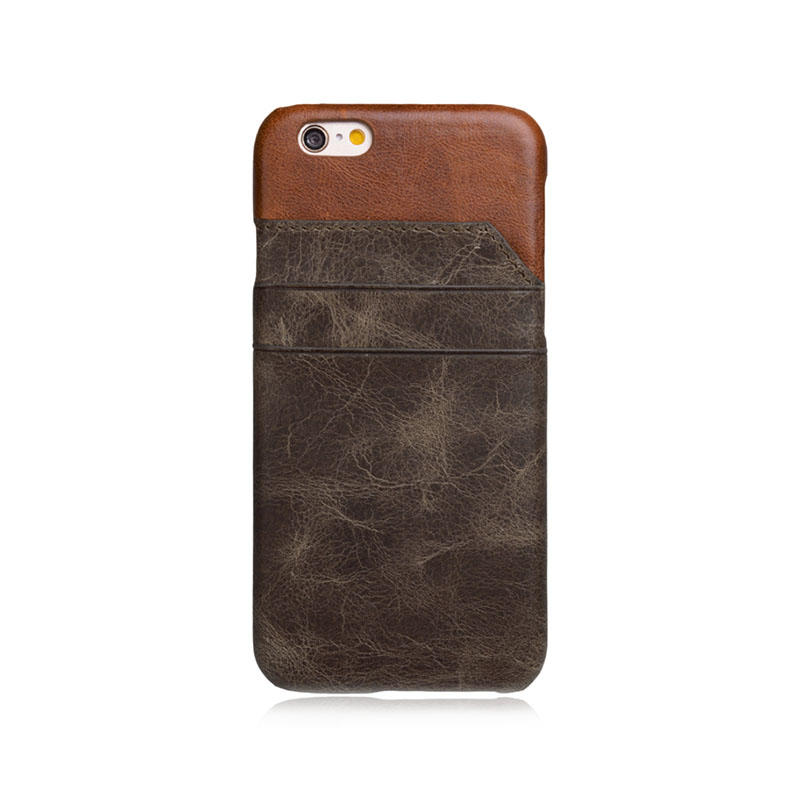 New design Custom Leather Iphone 6 Case mobile back cover for iPhone 6