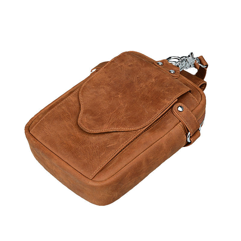 Fashion Multi-function genuine leather business Leather Travel Wallet