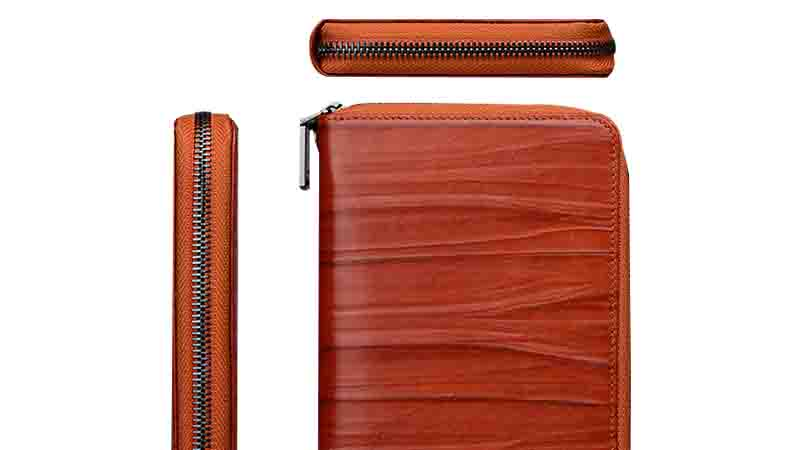 pocket leather credit card case factory for iphone XS AIVI-6