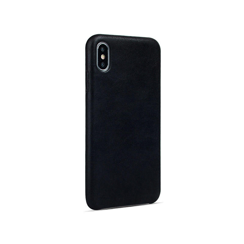 Custom Leather phone Case Top Quality Genuine Cow Leather Cell Phone Case For Iphone X/XS/XS MAX
