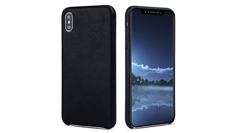 waterproof personalised leather phone case protector for iphone XS-7