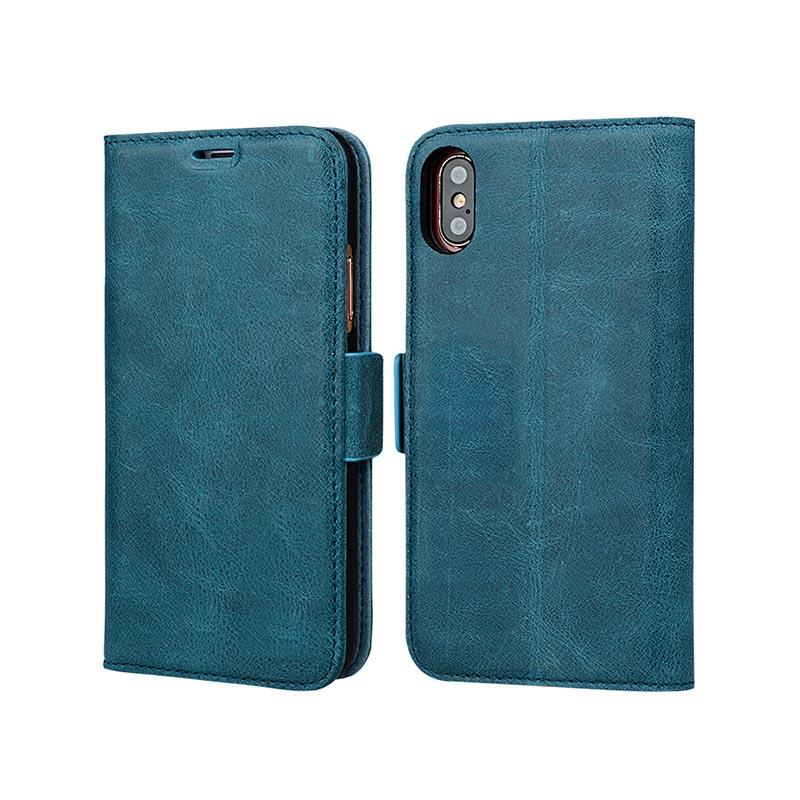 AIVI durable personalised leather phone case for iphone XS Max