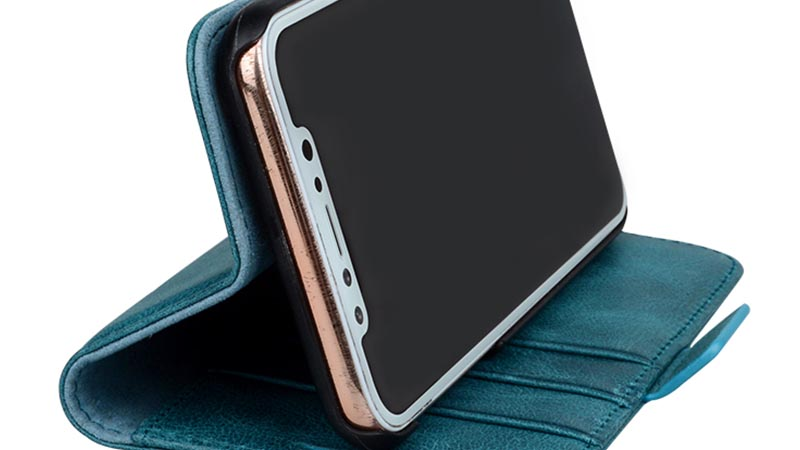 AIVI durable personalised leather phone case for iphone XS Max-6