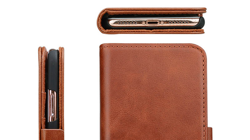 AIVI customized custom leather phone case for iphone XS Max-4