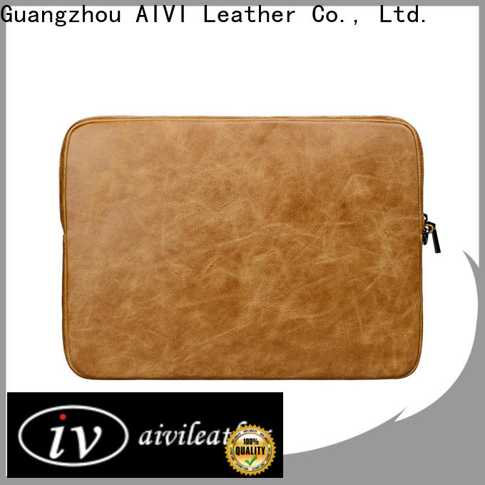 AIVI leather macbook case for sale for travel