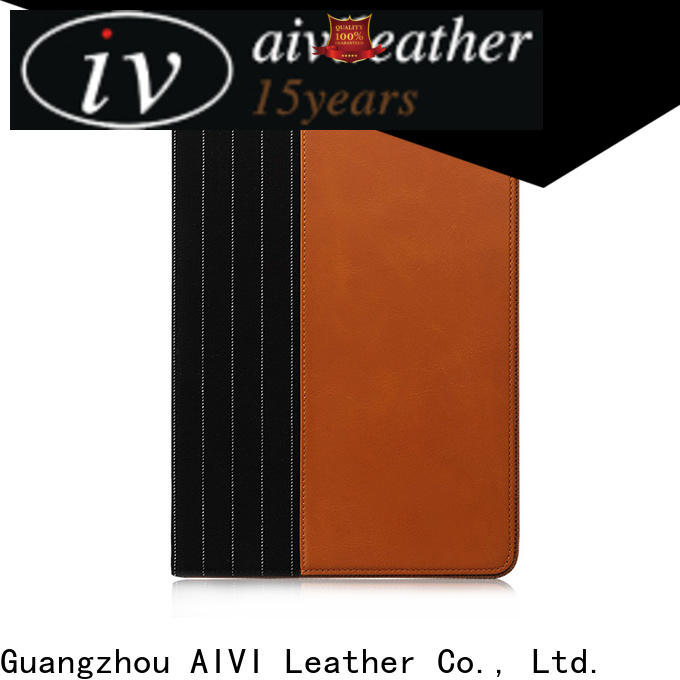 AIVI real leather ipad case manufacturer for computer