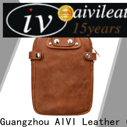 AIVI custom leather wallets Manufacturer for men