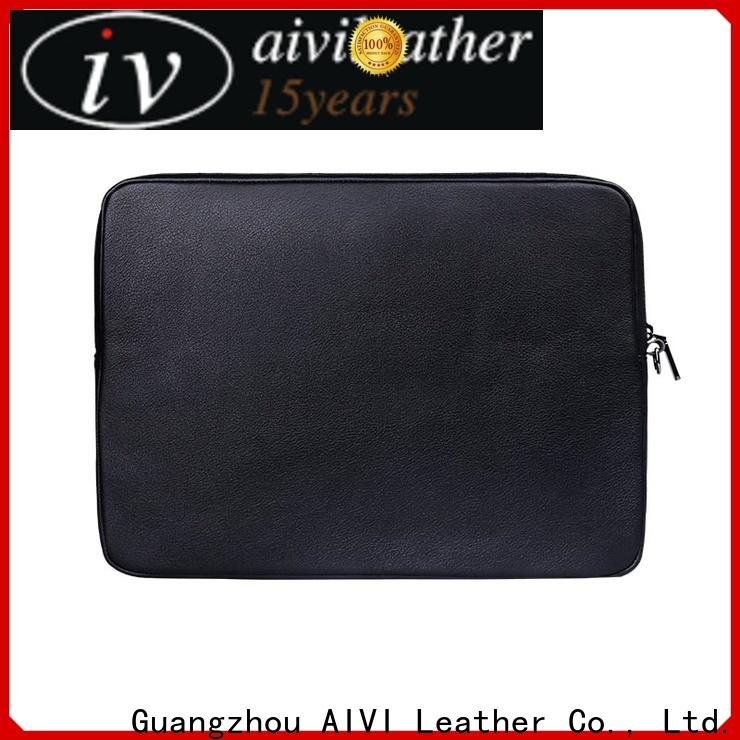AIVI leather notebook case large capacity for notebook computer